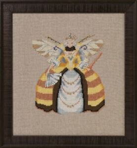Miss-Queen-Bee-Intriguing-Insects-Collection-NC261-Nora-Corbett-New-Chart