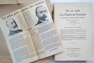Albert-dauzat-ou-en-sont-les-Etudes-de-francais-Bibliotheque-Du-Francais-1934