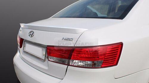 Rear Trunk Spoiler Lip Trim Glossy Painted For HYUNDAI 2006-2010 Sonata NF i45
