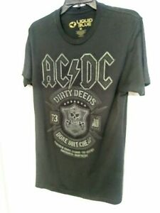 Adult T-Shirt ACDC Dirty Deeds Done Dirt Cheap American Classics