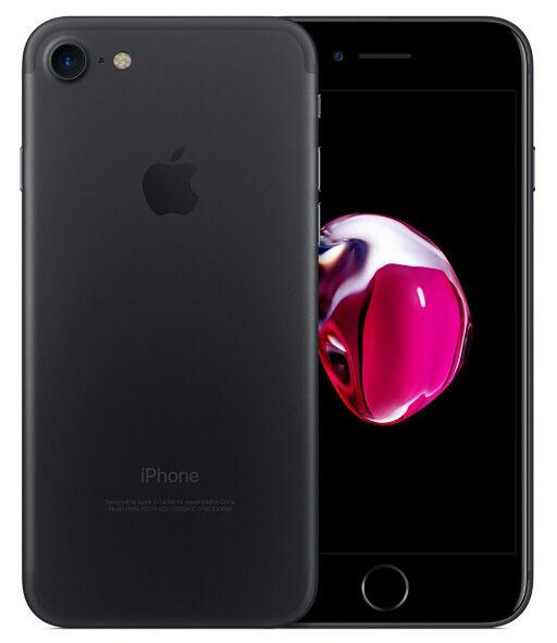 Apple iPhone 7 32GB Nero ITALIA Opaco Retina NUOVO LTE Originale Smartphone