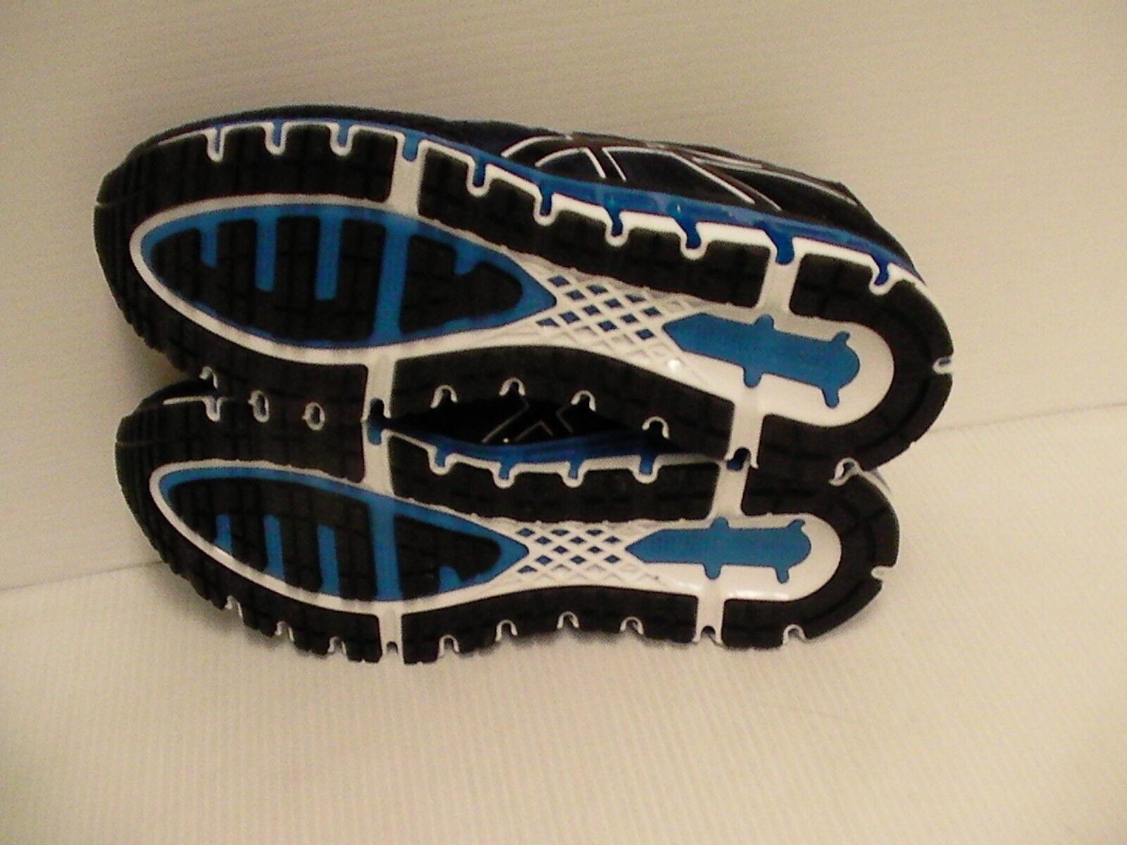 Asics Homme Gel Quantum 180 2 Chaussures Chaussures Chaussures de Course Caban Noir Bleu Taille 12.5 a4302d