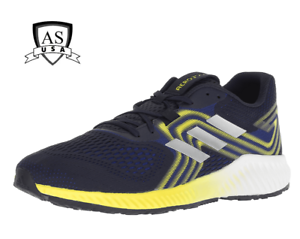 b1ac3a8127eb Adidas aerbounce 2 m Men s Running shoes AQ0534 Blue  Yellow Size 8 ...
