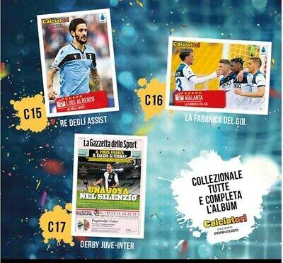 BUSTINA DI FIGURINE PANINI 2014-15 IL FILM DEL CAMPIONATO LA CORSA D/'INVERNO