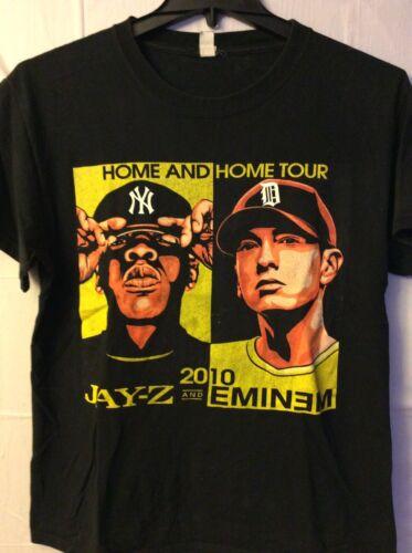 Jay Z And Eminem.  Shirt. 2010. Black. M