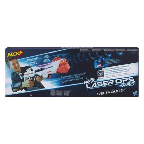 Hasbro Nerf Laser Ops Pro - Deltaburst (1 emballage) ou Alphapoint (2