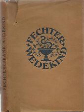 FRANK WEDEKIND BY PAUL FECHTER (1920) GERMAN PLAYWRIGHT