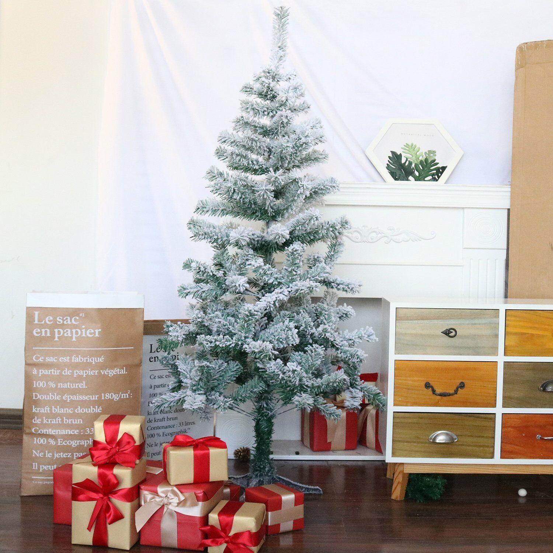 Xmas Deko Weihnachtsbaum.Weihnachtsbaum 150cm Christbaum Künstlicher Schneebaum Tannenbaum Xmas Deko De
