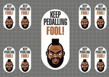 Pedal! MS032SM Motivational Cycling Bicycle Decal//Sticker