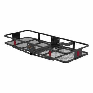 Curt 18153 Basket Trailer Hitch Cargo Carrier, 500 Lbs. Capacity, 60-Inch X 23-1