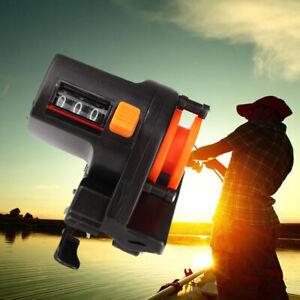 Fishing Line Counter Reel Depth Finder Strong Gauge Set Meter Manual Ho S0I0