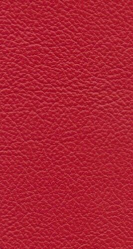 Italian Full Whole Leather Cow Hide Colour Box Red