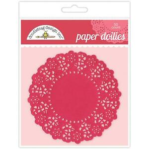 Paper-Doilies-Round-4-5-034-Lady-Bug-50-Pkg