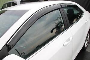Window Sun Visors With Chrome Strip For  2014- 2016 Toyota Corolla ... 7e787cb9eb5