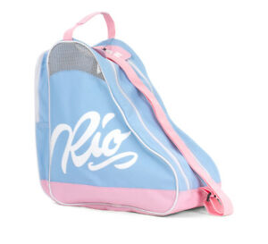 Rio Roller - Inscription Skate Sac - Bleu/rose - Roller Skate Sac Transport