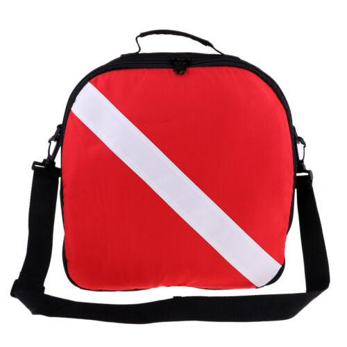 Zipper Dive Flag Regulator Gear Shoulder Bag for Scuba Diving Snorkeling