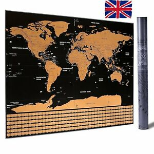Scratch-Off-Map-World-Extra-Large-Size-Wall-Art-US-States-Country-Flag-82-x-59cm
