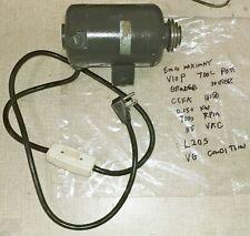 Emco Maximat Lathe Tool Post Grinder Parts 115 Vac Ceka U 150 Motor 7k Rpm L20s