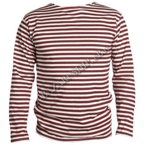Telnyashka armée russe uniforme militaire à Rayures Qualité T-shirt 100/% coton