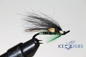 Salmon-Fly-Fludin-Double-Hook-3-pack-Pick-a-size-Fly-Fishing-Fly