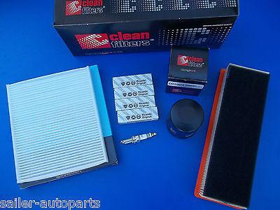 Ölfilter Fiat Panda 169 1.1 1.2 Inspektionspaket Inneraumfilter Luftfilter
