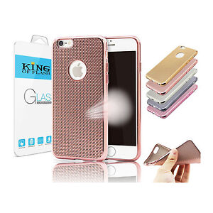 Weave Shockproof Silicone Tpu Bumper Soft Case Iphone 6 6s Plus