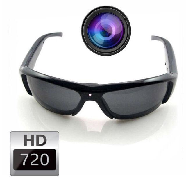 New 720P HD Camcorder SunGlasses Camera DVR Glasses Digital Video Eyewear Record