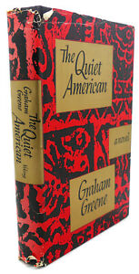 Graham Greene THE QUIET AMERICAN  1st Edition 2nd Printing