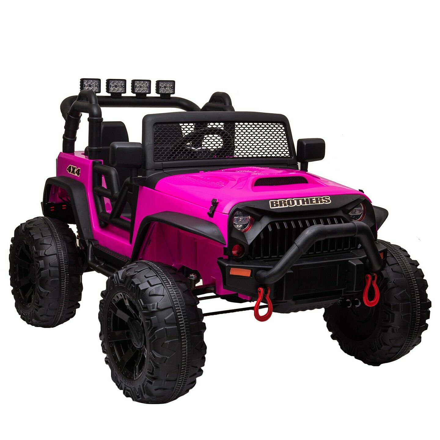 12v Battery Powered Kids Ride On Car Rc Remote Control W Led Lights Music For Sale Online Ebay