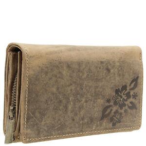 RFID-Damen-Geldboerse-Geldbeutel-echt-Leder-Portemonnaie-Kartenhalter-Handtasche