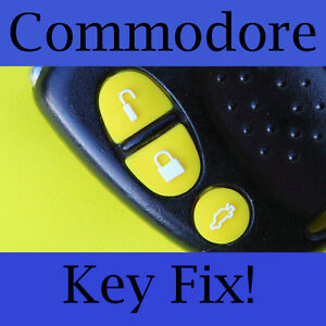 Holden-Commodore-Key-Buttons-VS-VT-VX-VY-VZ-Yellow-Set