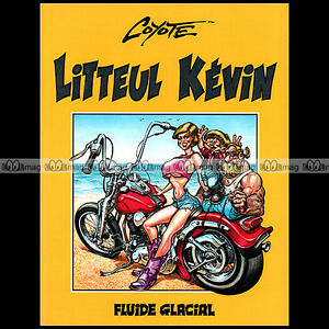 BD-Moto-LITTEUL-KEVIN-Tome-1-COYOTE-Editions-FLUIDE-GALACIAL-1993