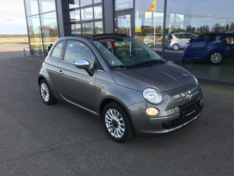 Fiat 500C 1,2 Popstar 2d - 120.000 kr.
