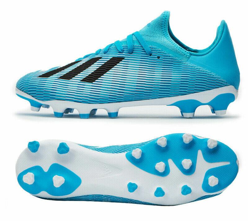 Adidas x 19.3 mg suela botas de fútbol ef7549 azul blancoo negro