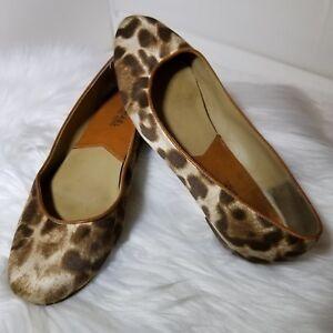 9d73d3993e95f Michael Kors Womens Flats Size 7 M Cheetah Animal Print Ballet Flat ...