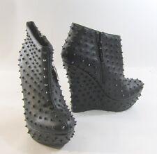"Blacks SPIKE 5.5"" high wedge heel 1.5"" platform  ankle boot  -US WOMAN size  6"