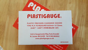 Plastigauge Engine Bearing Clearance Gauge, Red