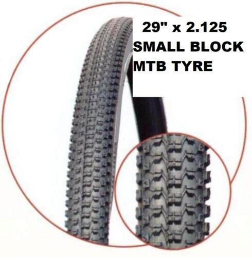 "29ER X 2.125/"" Mountain Bike Bicycle Tyre MTB High Quality SMALL BLOCK TREAD"