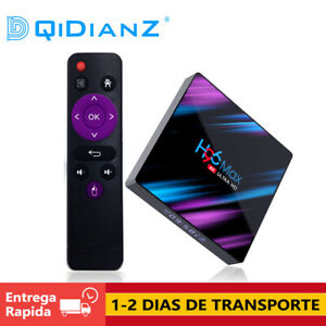 CAJA-H96-MAX-Android-9-0-TV-Box-RK3318-Quad-Core-Dual-4K-HD-Wifi-BT-4-0-Media-TV