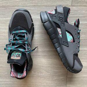 Nike Huarache Free 2012 BHM 525306-001 Size 10 Black History Month ... f816180a8c4a