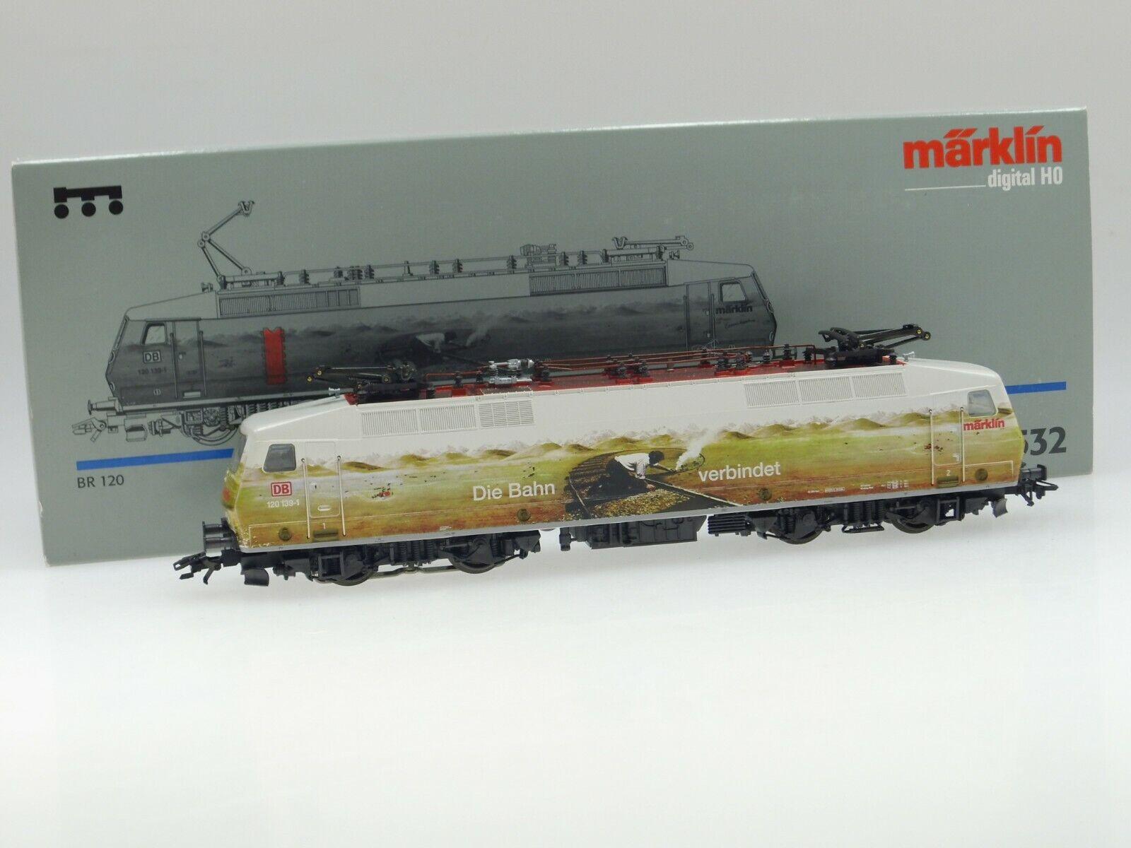 (87 512) marklin H0 E-Lok Br 120   la Ferrovia Connette   DB (Tipo Nr.36880) AC