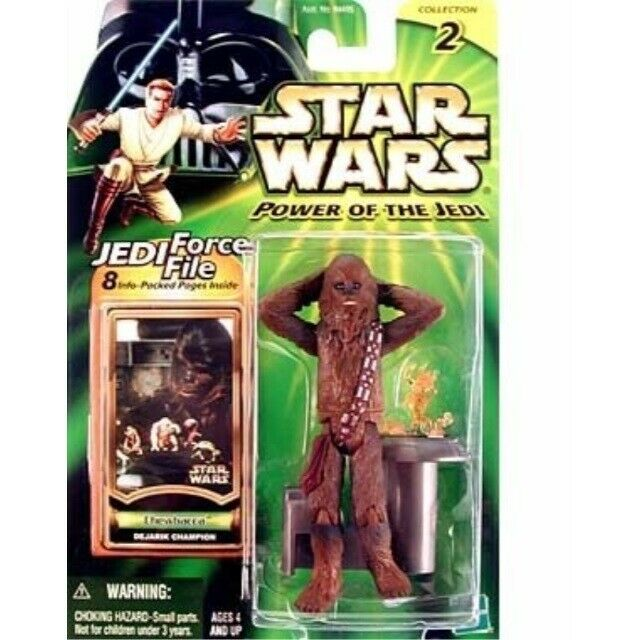 Star Wars Power of the Jedi Action Figure - Chewbacca (Dejarik Champion)
