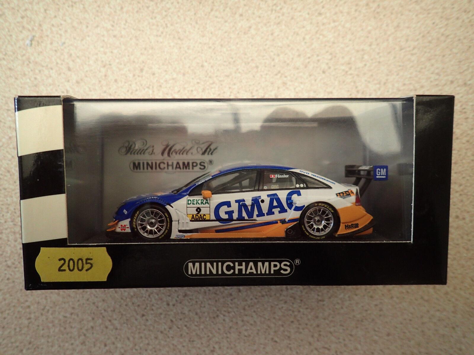 Ltd Edn Minichamps 1 43 400 054609 Opel Vectra GTS V8 DTM 2005 Team OPC