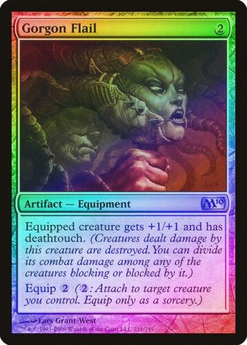 Gorgon Flail FOIL Magic 2010 M10 HEAVILY PLD Artifact Uncommon CARD ABUGames