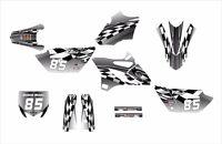 2015 2016 Yz 85 Graphics Yamaha Yz85 Decal Kit 2500-metal Free Custom Service