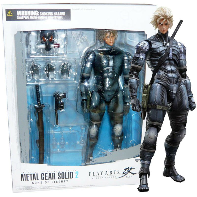 venta directa de fábrica Square Enix Metal Gear Solid 2 hijos de la libertad libertad libertad Jugar Arts Kai Figura De Raiden  bienvenido a orden