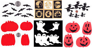 4 Pieces Quickutz Medium Sized Pumpkin Die Cut Embellishments