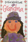 To the World's Best Grandma by Exley Publications Ltd (Hardback, 1992)