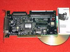 Adaptec-Controller-card aha-2940 uw pci-SCSI Adapter-mapa + instrucciones + CD sólo: