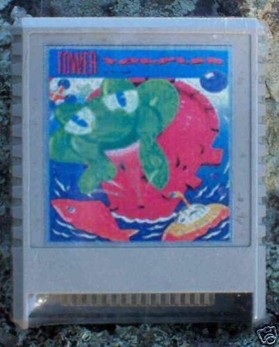 Tower Toppler cartridge 64K XL//XE NTSC Atari